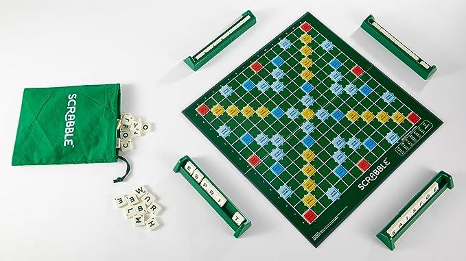 Mattel - Scrabble Classique juego de letras - Francés: Amazon.es: Juguetes y juegos