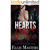 Hearts Collide: a Sizzling Rock Star Romance (Angel Fire Rock Romance Book 3) book cover