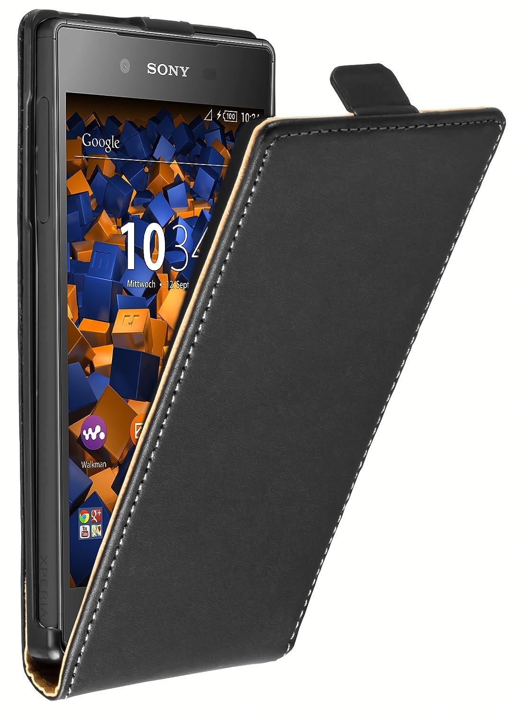 mumbi Flip Case für Sony Xperia Z5 Tasche: Amazon.de: Elektronik