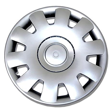 tuningpros wc-15 – 2032-S 15-inches-silver mejorado piel cubierta