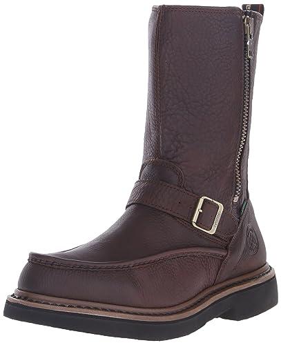 dcf7ec015c4 Georgia Boot Men's G4124 Wellington Work Shoe