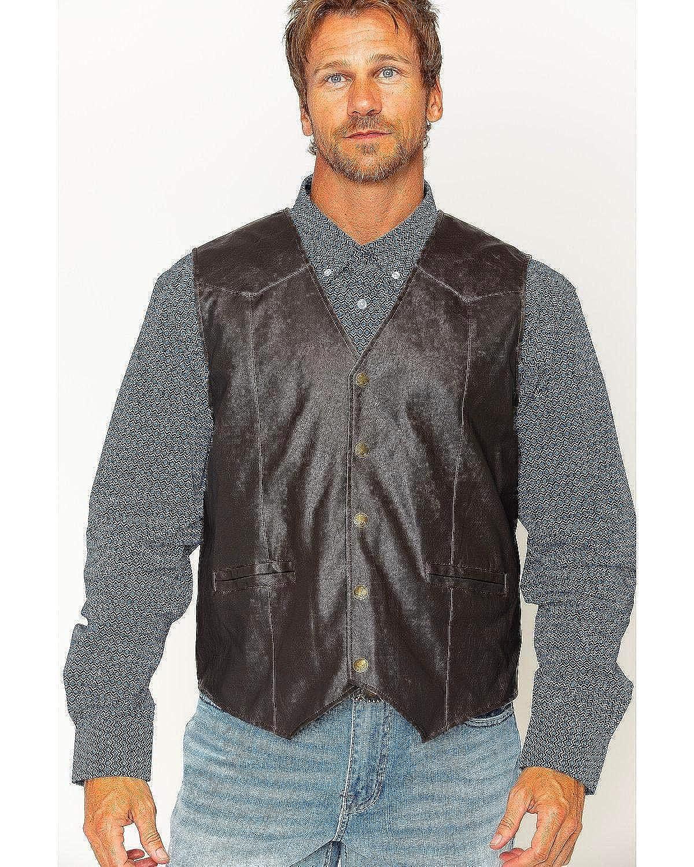 5f7c8f01a8d Cody James Men's Deadwood Vest Brown XX-Large at Amazon Men's ...