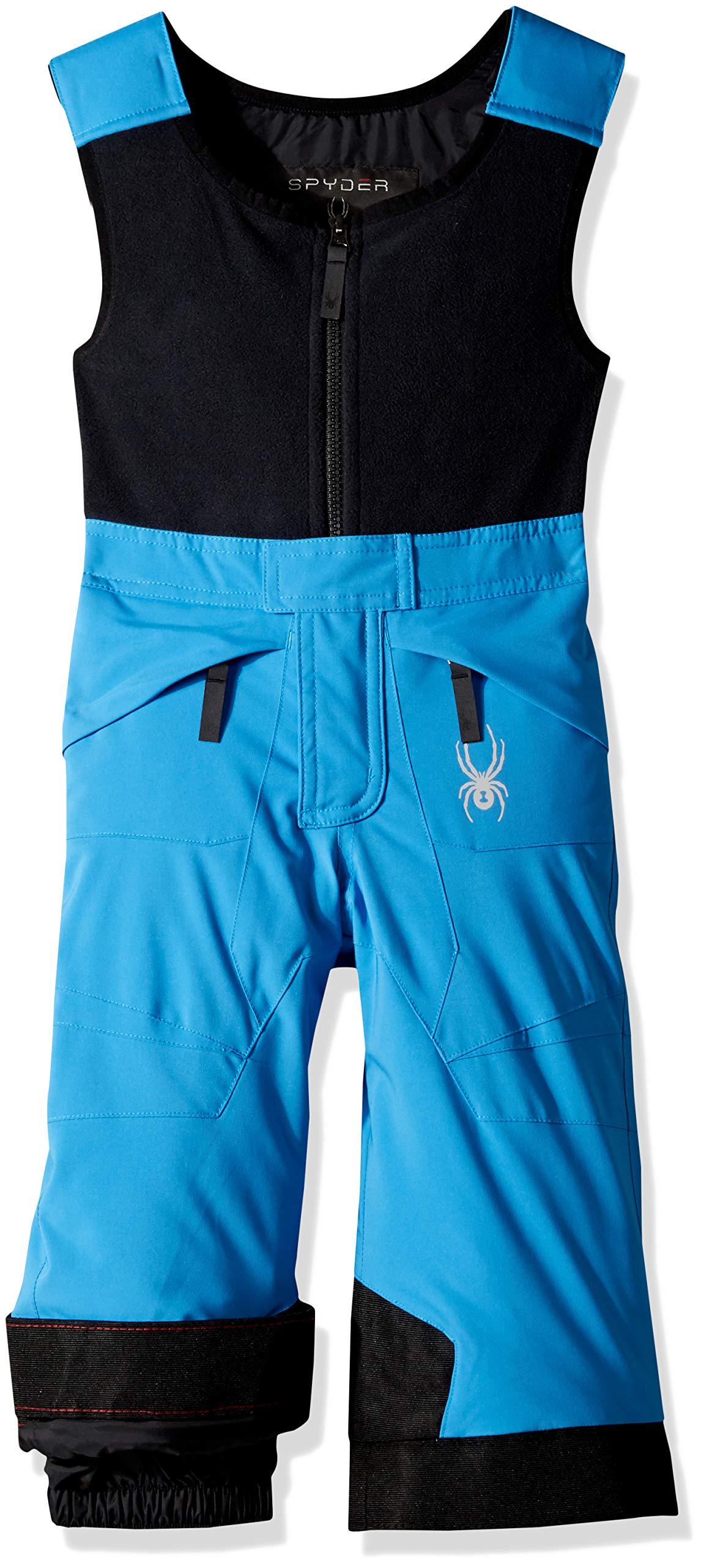 Spyder Boys' Mini Expedition Ski Pant, French Blue/Black/Black, Size 2