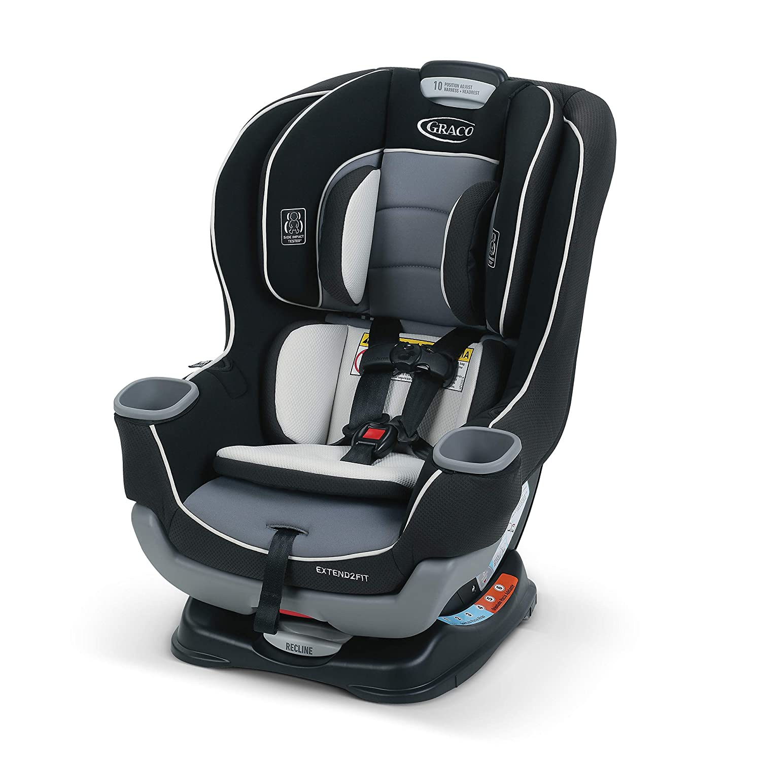Graco Extend2Fit Convertible Car Seat Gotham main