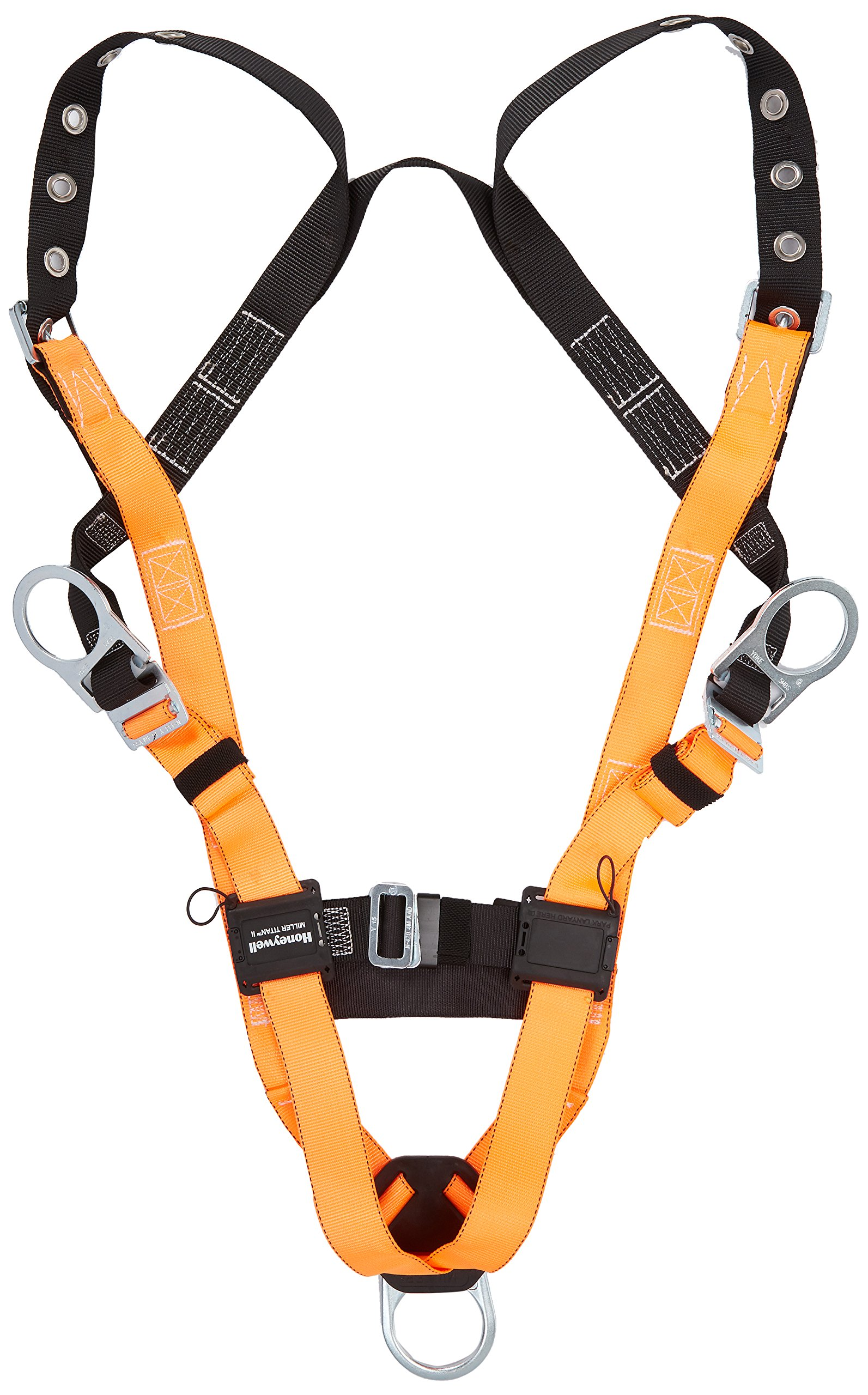 Miller Titan by Honeywell T4507/UAK Non-Stretch Harness with Side D-Ring, Universal