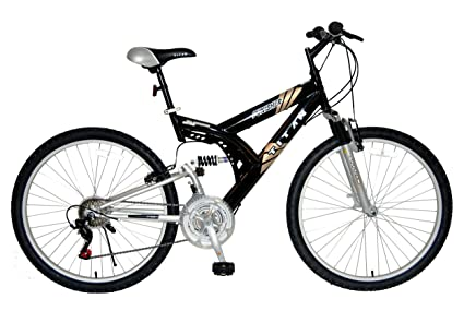 All Terrain Bike >> Amazon Com Titan Punisher Dual Suspension All Terrain Men S