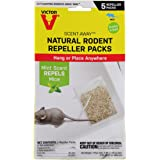 Victor M805 Scent-Away Natural Rodent Repeller Packs, 5 Bags, Beige