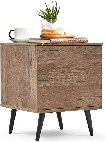 Linsy Home Modern Wood Side Table