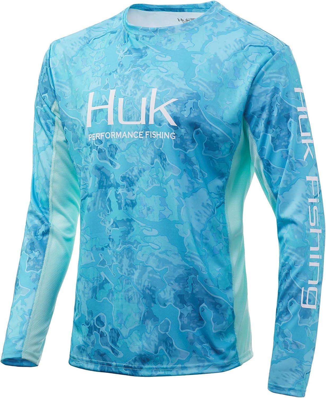 HUK Icon X Camo Ls Long Sleeve