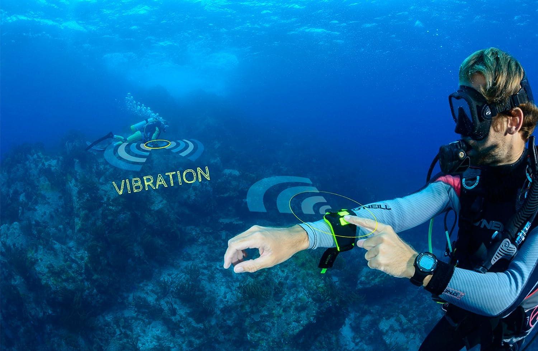 Laser Entfernungsmesser Unter Wasser : Buddy watcher tauchsignalgeber für unterwasser kommunikation