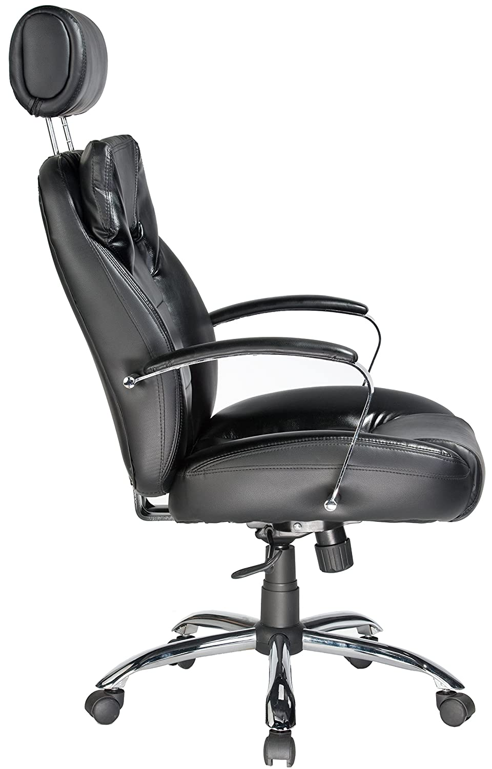 amazon com comfort products commodore ii oversize leather chair