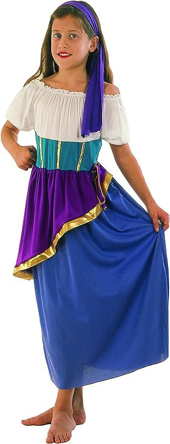 Fiori Paolo 61115 Gitana Gipsy - Disfraz de niña 5-7 anni ...