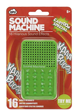 NPW Sound Effect Prank Toy - Green Sound Machine Cartoon