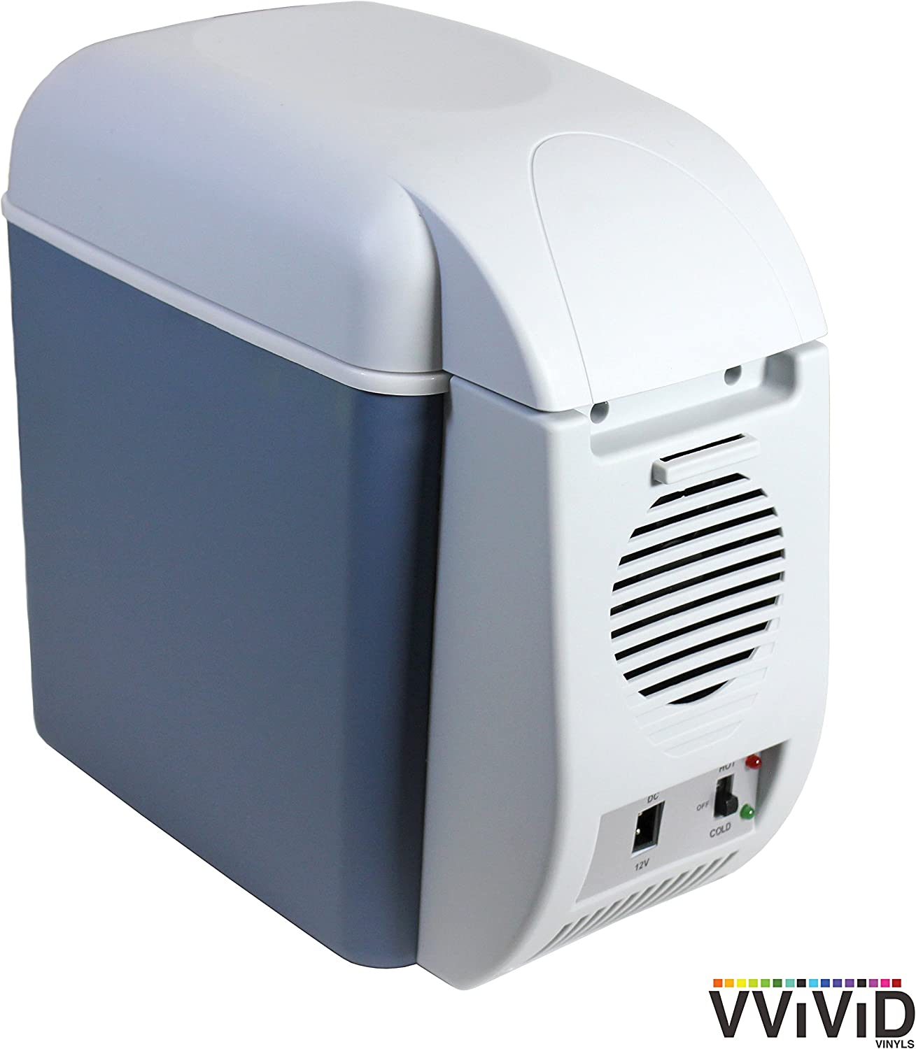 VViViD 7.5L Capacity Compact Thermoelectric Cooler//Warmer