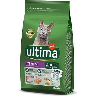ultima Pienso para Gatos Esterilizados Adultos con Salmón - 1.5 kg