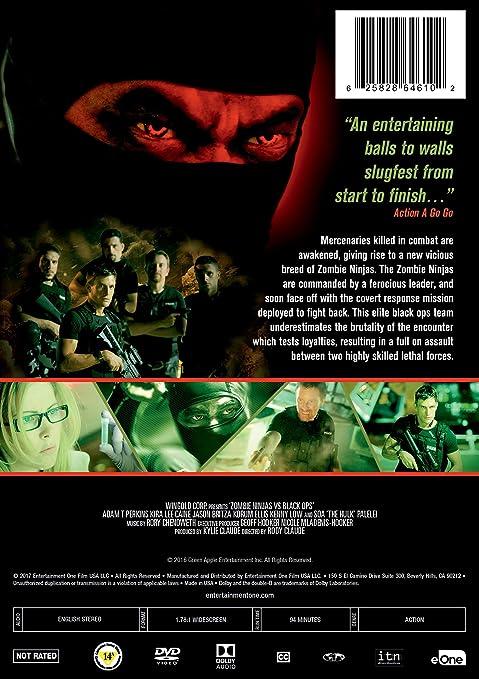 Amazon.com: Zombie Ninjas Vs Black Ops: Adam Perkins, Kira ...