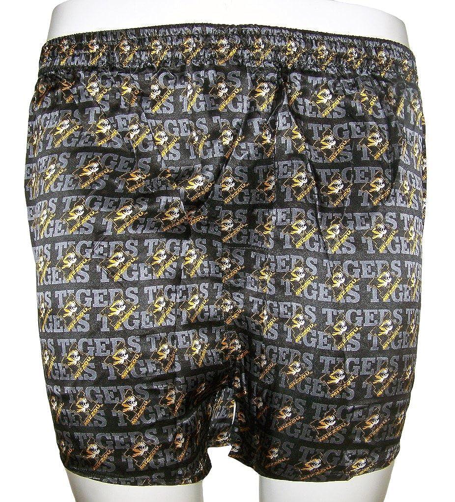 22fb8d2920 Merge Left College Classics UNIVERSITY OF MISSOURI MIZZOU TIGERS 100% Silk  Boxers at Amazon Men's Clothing store: Boxer Shorts
