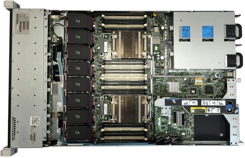 HP Proliant DL360p Gen8 4 x 3.5 HS E5-2643 Quad Core 3.3Ghz 64GB 2X 300GB 15K P420i Renewed