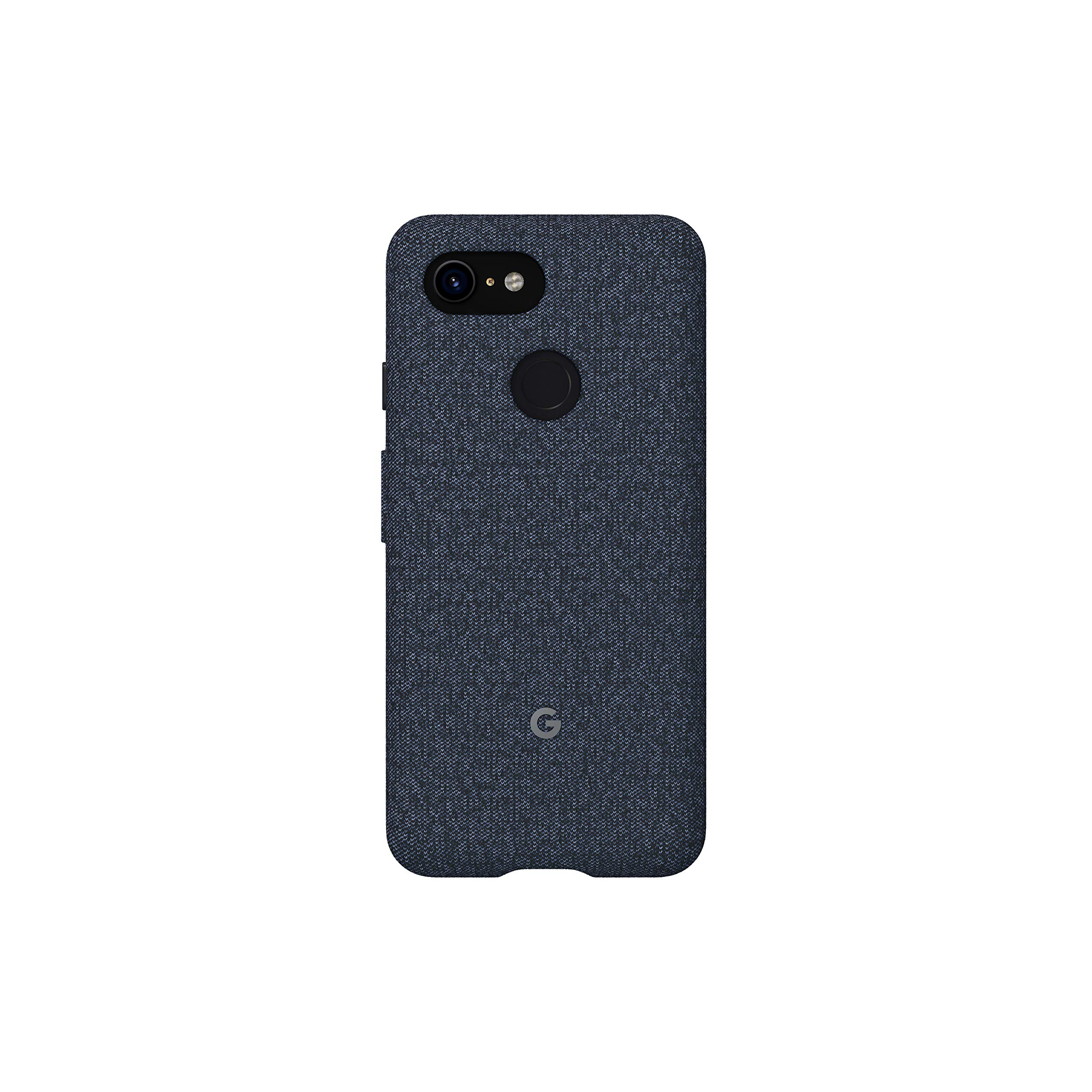 Google Fabric Case Cell Phone Case for Pixel 3 - Indigo Fabric
