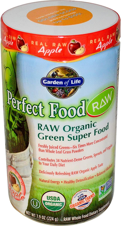 Garden of Life Perfect Food RAW Organic Green Super Food Apple - 7.9 oz
