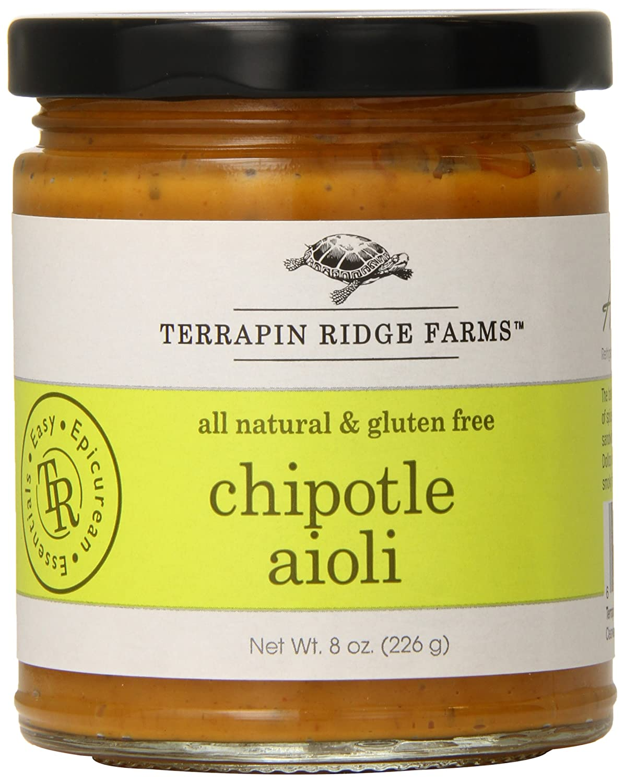 Terrapin Ridge Farms Sauce, Chipotle Aioli, 8.5 Ounce