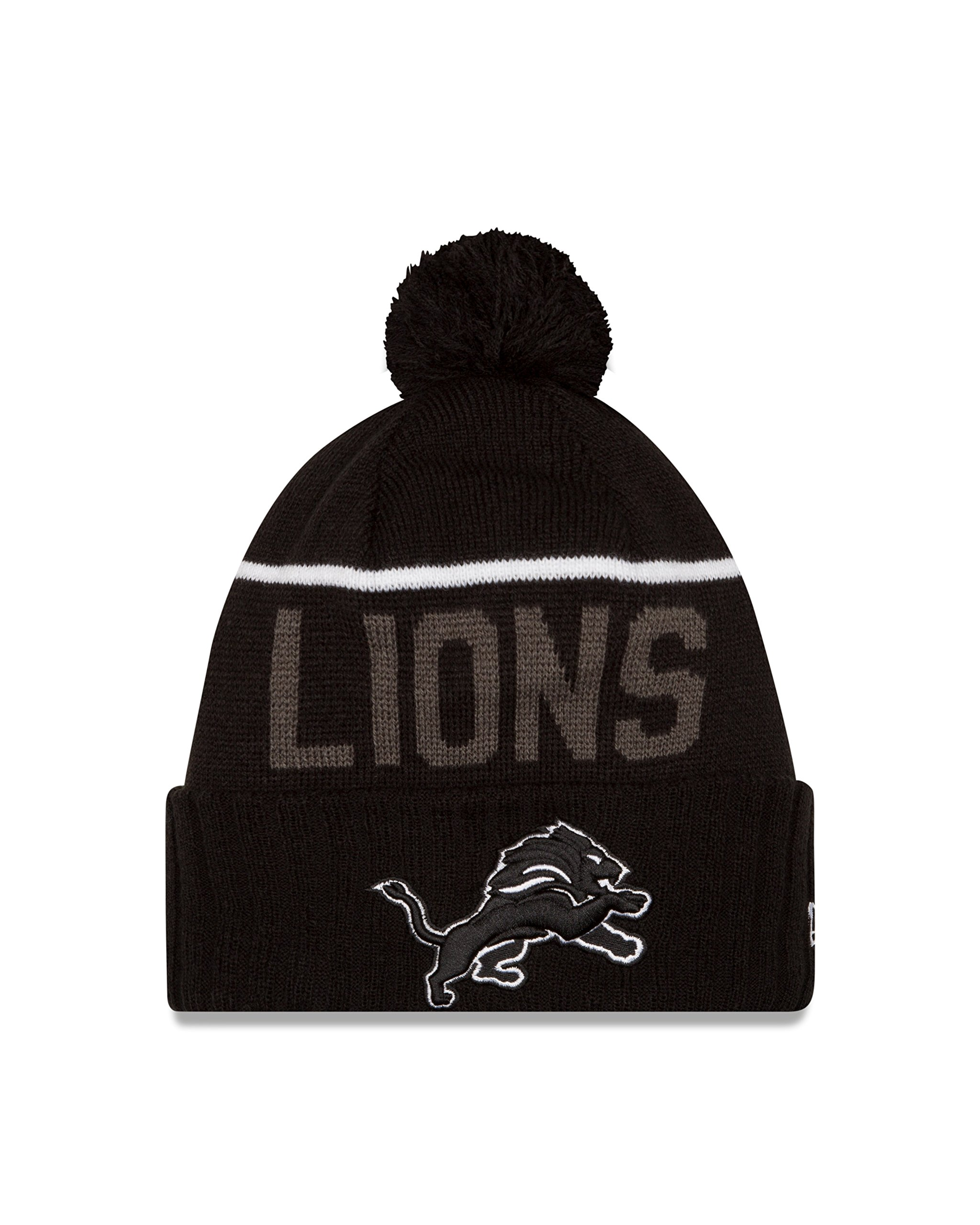 NFL Detroit Lions 2015 Sport Knit, Black, One Size