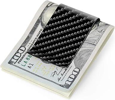 Carbon fiber wallet Money Clip Credit Card holder-CL CARBONLIFE Clips for men
