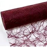 Sizoweb Tischband bordeaux 30 cm Rolle 25 Meter 64 011-R
