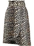GANNI Luxury Fashion Womens F4194943 Brown Skirt | Spring Summer 20