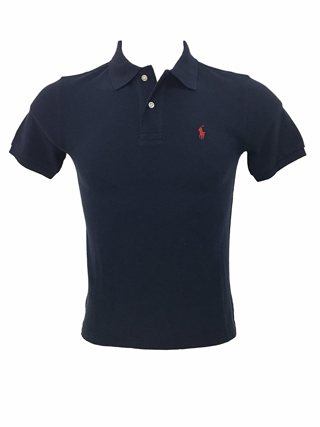 Ralph Lauren Boy 8-20 Anni Polo Manica Corta Blu French Navy)