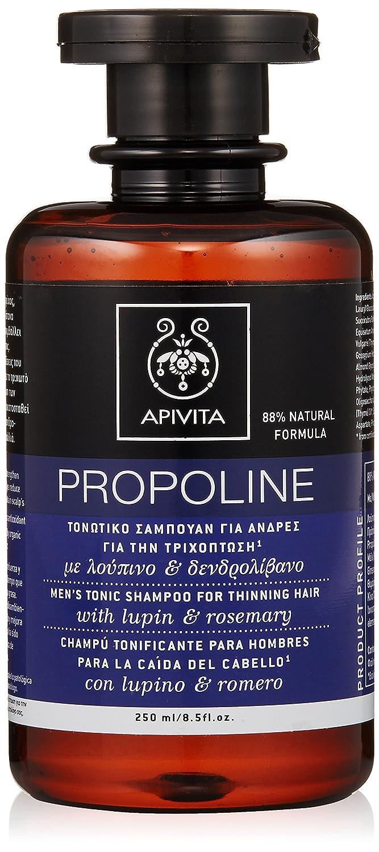 Mens Tonic Shampoo with Lupin & Rosemary (For Thinning Hair) - 250ml/8.5oz Apivita