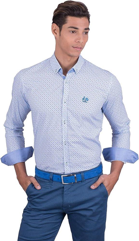 La Vespita Camisa con Cuadrados de Color y Logo Vespa: Amazon.es: Ropa y accesorios
