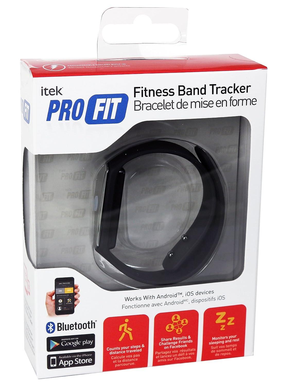 Amazon Com Itek Pro Fit Waterproof Bluetooth Fitness Band Activity