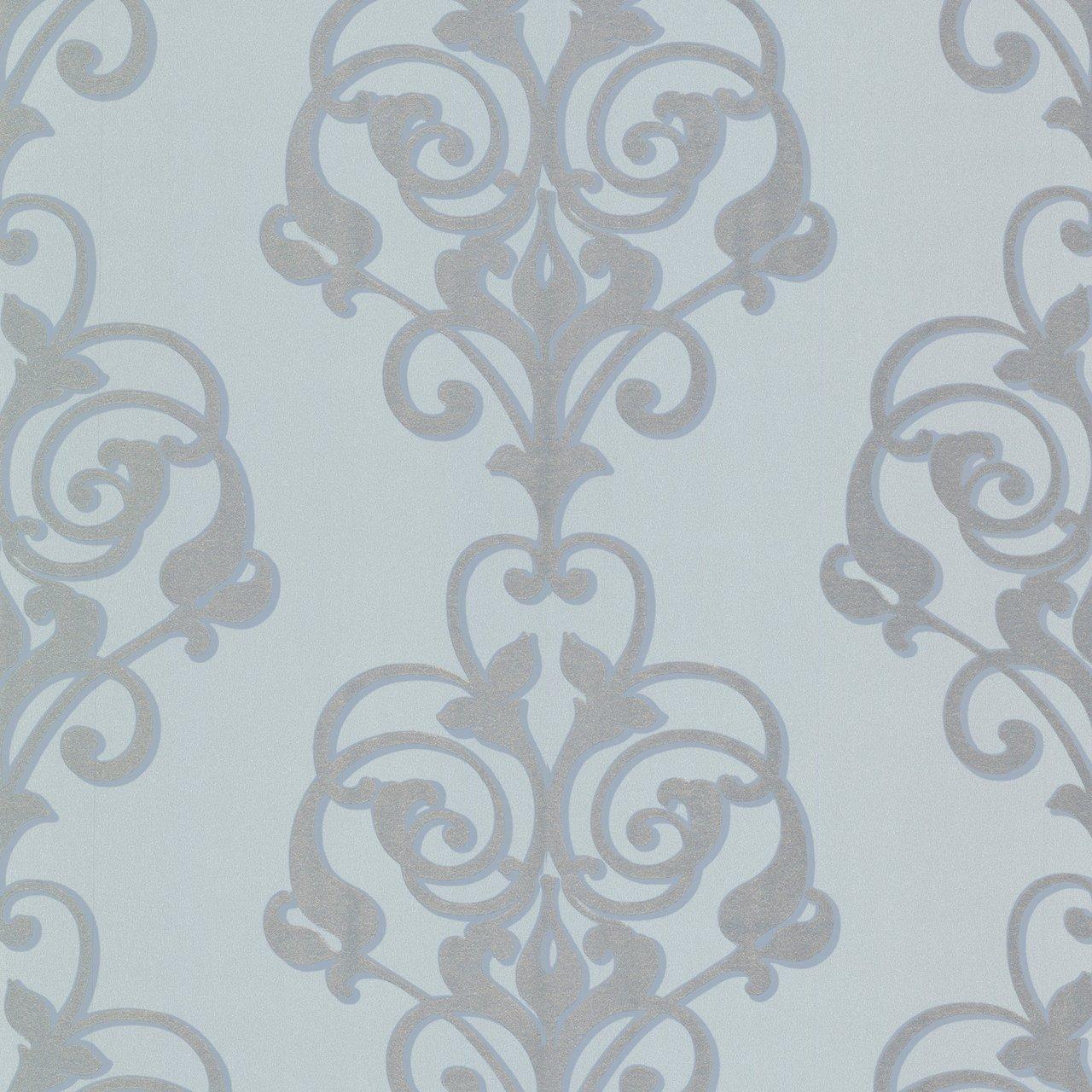 Beacon House 493 Atb007 Aeneas Modern Damask Wallpaper Beige Amazon Com