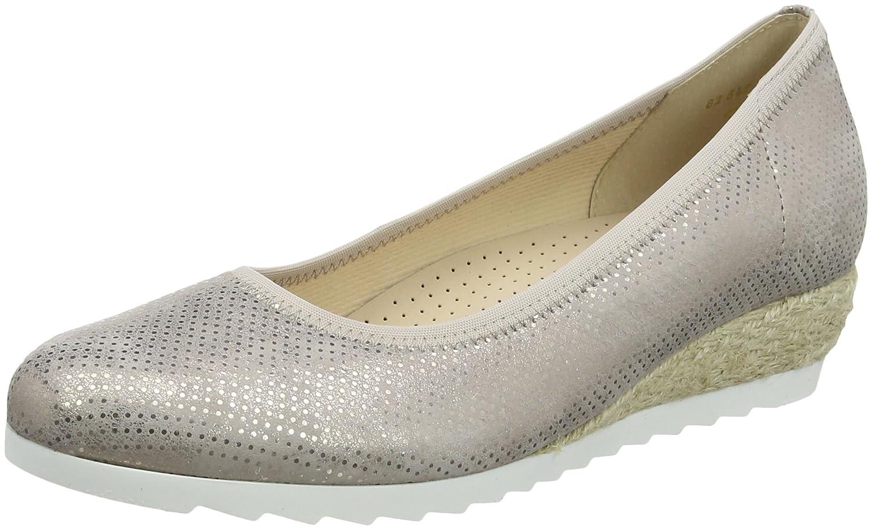 Gabor Epworth Womens Modern Ballerina Shoes B07621Y93C 4 C (M) UK/ 6 B(M) US|Rame Jute
