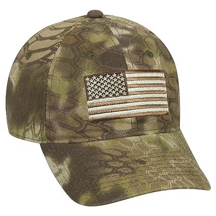 Amazon.com   Kryptek Adjustable Closure Tonal American Flag Cap ... 4bb800a5cab