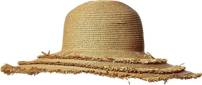 e54c197a3 San Diego Hat Company Womens UBL6820 - Ultrabraid Floppy with Fray Edges