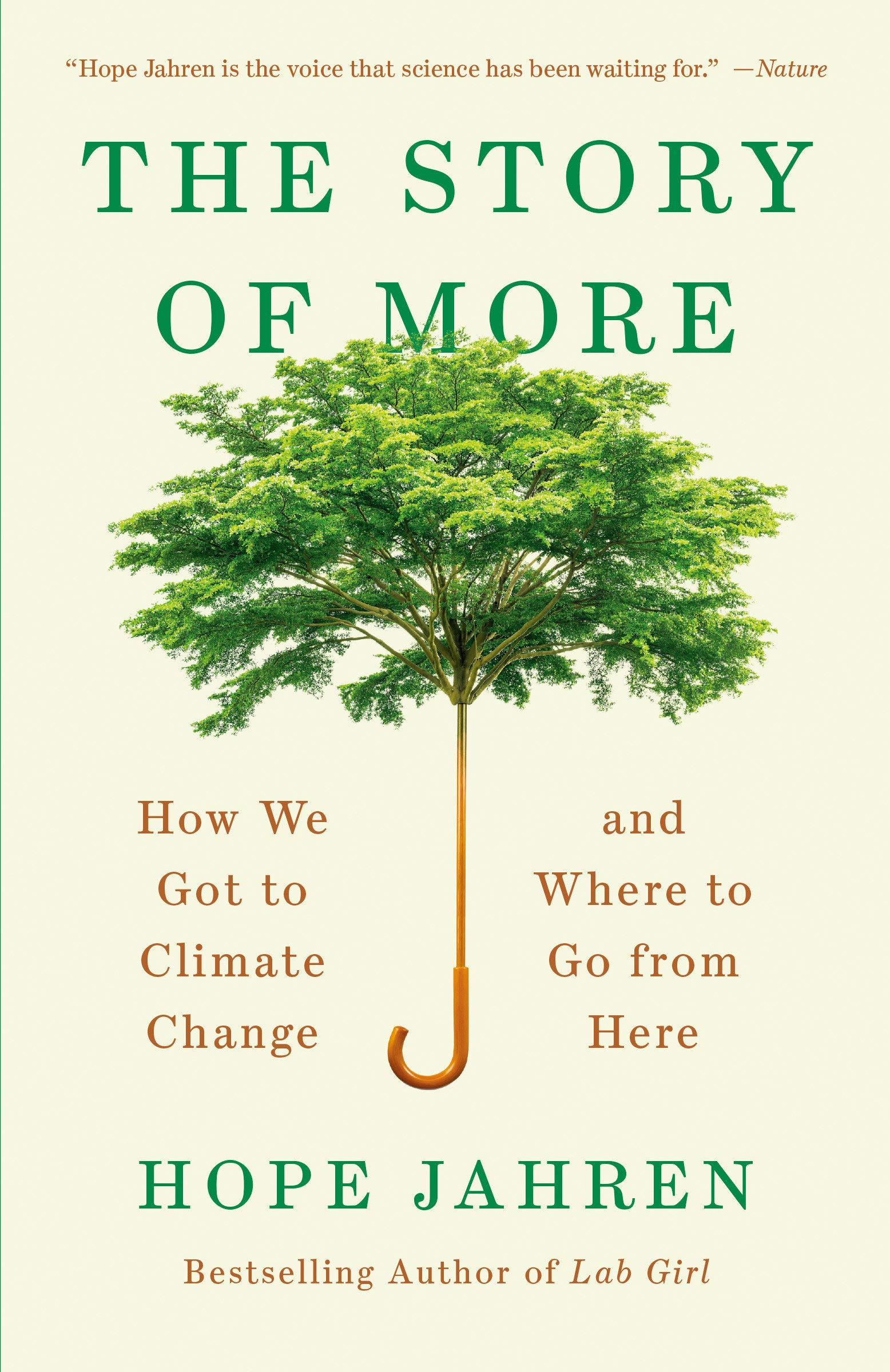 The Story of More: How We Got to Climate Change and Where to Go from Here book cover