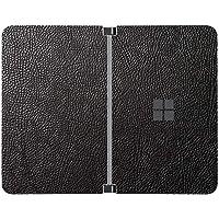 SopiGuard Sticker for Surface Duo Phone Edge-to-Edge Precision Vinyl Skin Wrap (Leather Textured)