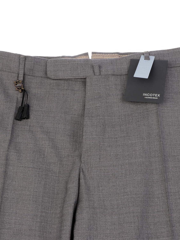 Pantalon Gris Homme Incotex Laine 1at0305855e910 XTPkwOZiul