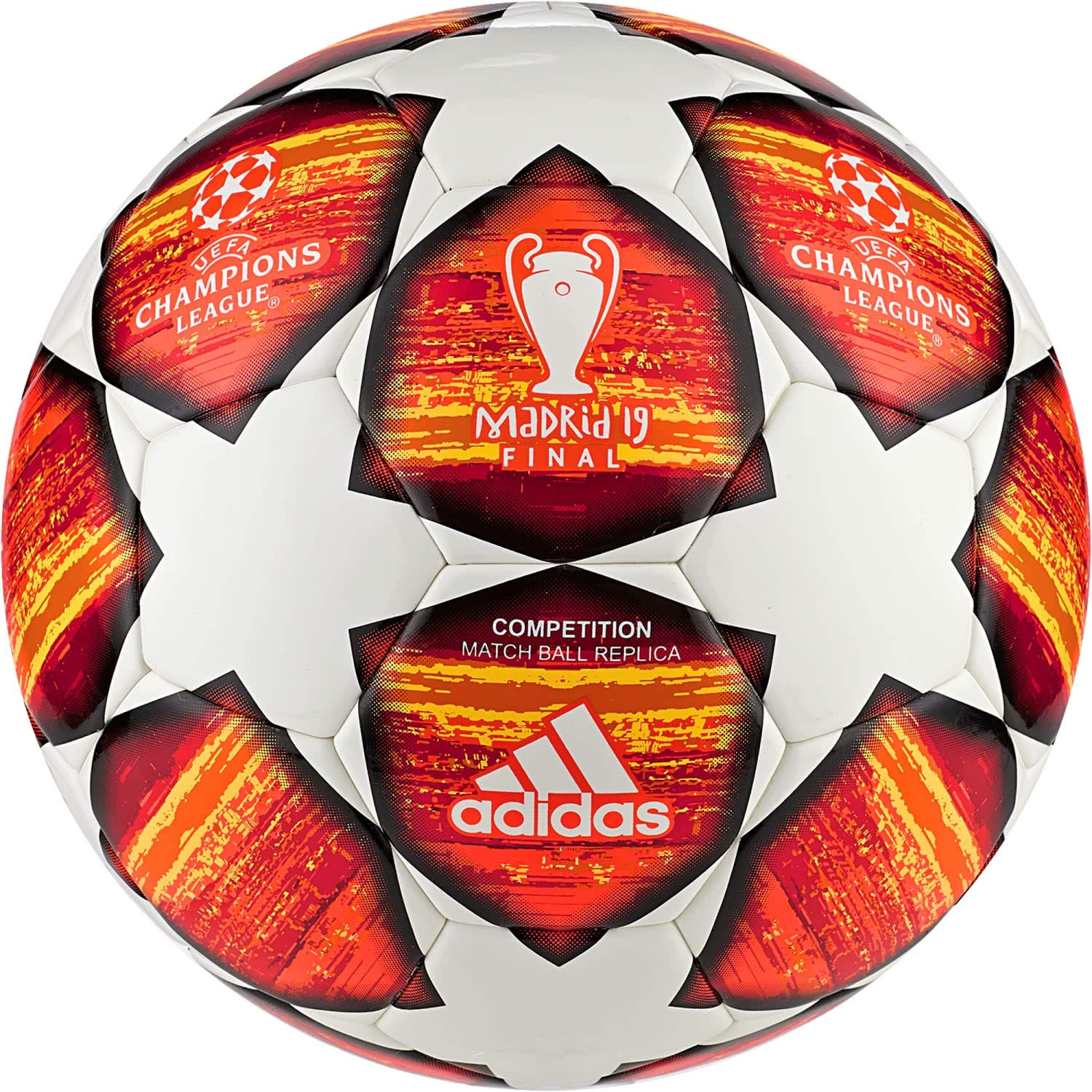 Adidas 2019 Champions League Madrid Final Football, Competition Match Ball Replica, Size 5