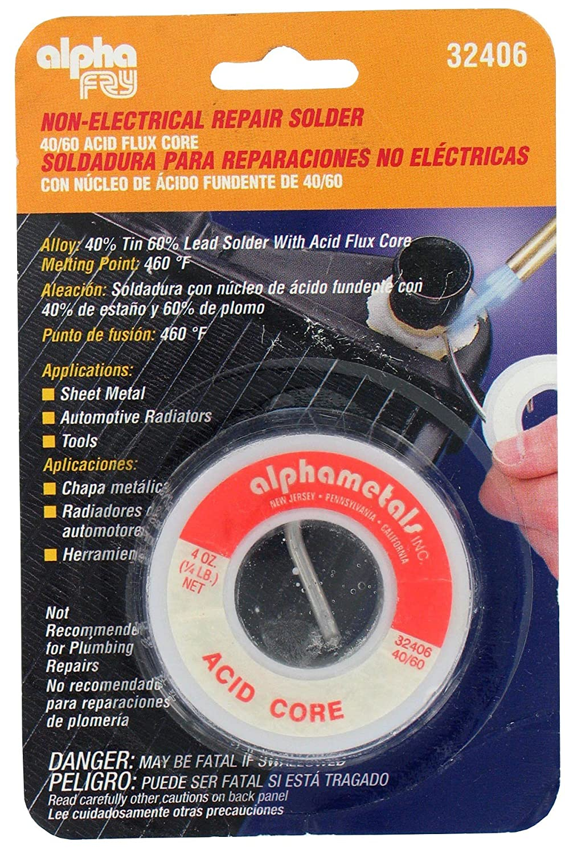 Alpha Fry AM32406 General Purpose Acid Core Solder - - Amazon.com