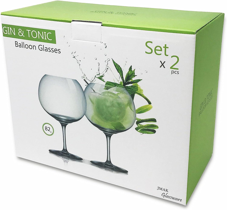 62/cl Gin et Tonic Balloon Lot de 2/verres