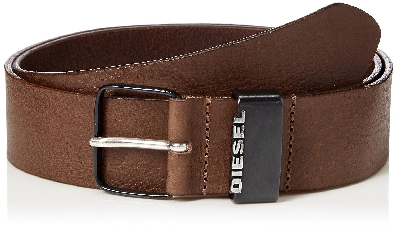 Diesel Ceinture homme B-GOOD, cuir véritable, boucle métal avec logo, cuir  lisse  Amazon.fr  Vêtements et accessoires 626a93aa565