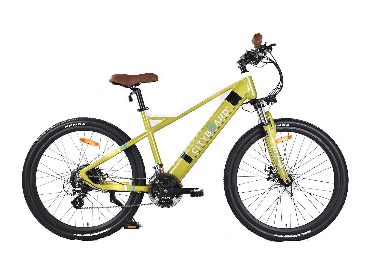 Cityboard E- Tui Bicicleta Eléctrica, Unisex Adulto, Negro/Azul, 27.5 Pulgadas: Amazon.es: Deportes y aire libre