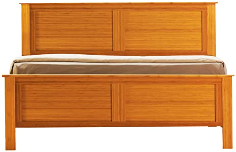 GREENINGTON LLC GB0601CK Host Bamboo Bed, California King, Caramelized