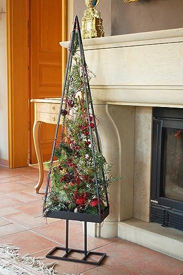 Amazon De Weihnachtsbaum Metall Schwarz Wunderschoner Baum Als