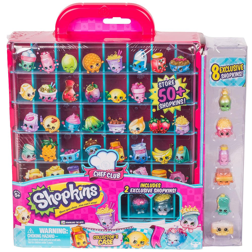 Amazon Shopkins Season 6 Collectors Case Toys Games