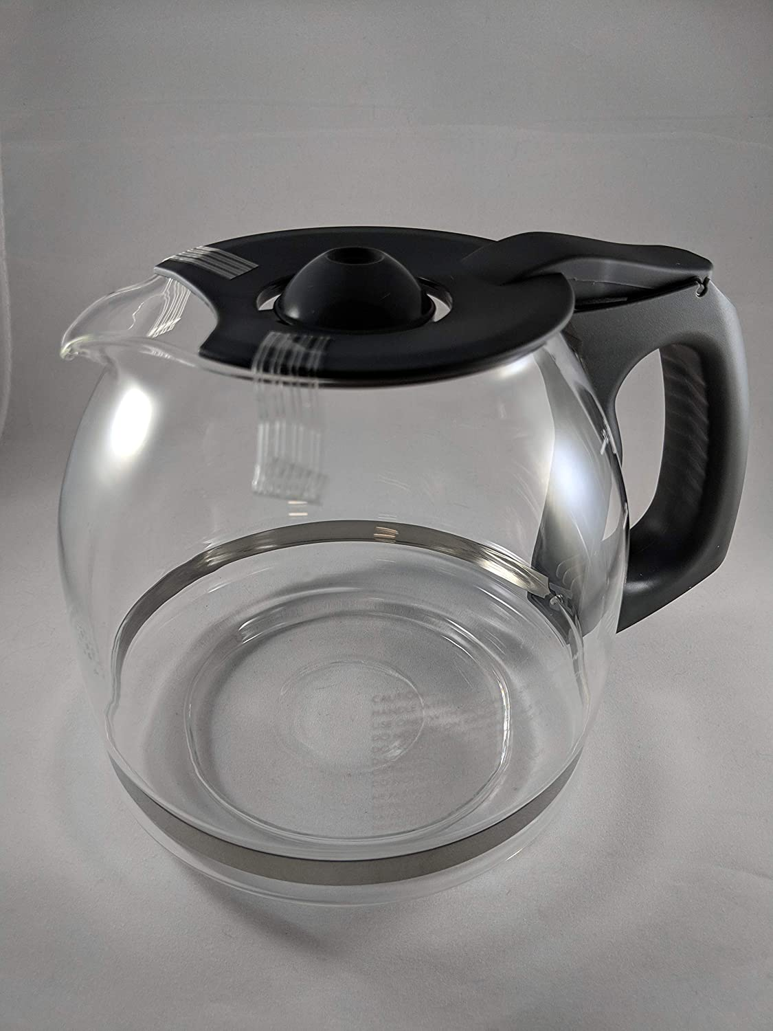 Compatible with Kenmore 88915 12 cup Coffee Maker Carafe (OEM) (Black Color Handle & Lid)