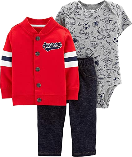 Carters Baby Boys Cardigan Sets 121h271